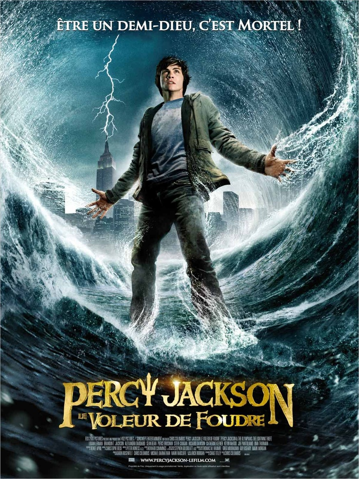 Percy Jackson And The Lightning Thief (Percy Jackson, le Voleur de Foudre)