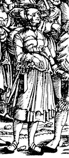 1532 Edhard Schoen -  Army Train Detail The German single-leaf woodcut, 1500-1550, Max Geisberg ; rev. and edited by Walter L. Strauss, New York : Hacker Art Books, 1974.