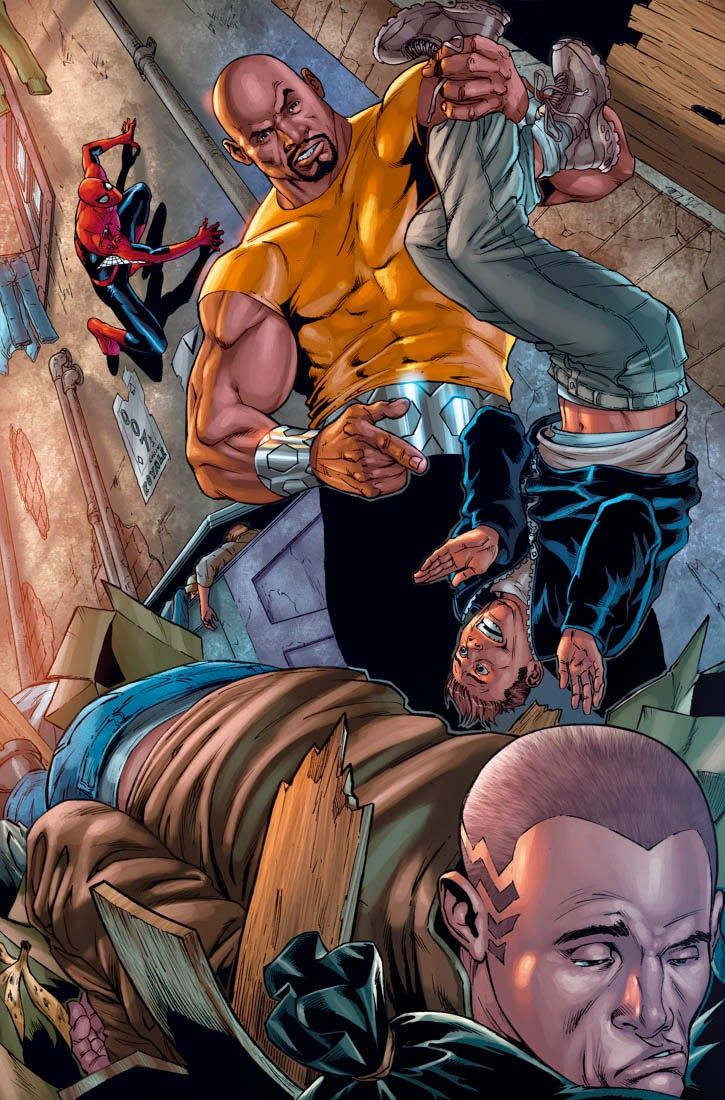 Universo HQ: LUKE CAGE (MARVEL COMICS)