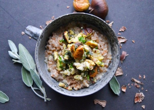 http://atastylovestory.com/speltotto-with-butter-herb-tossed-chestnuts/