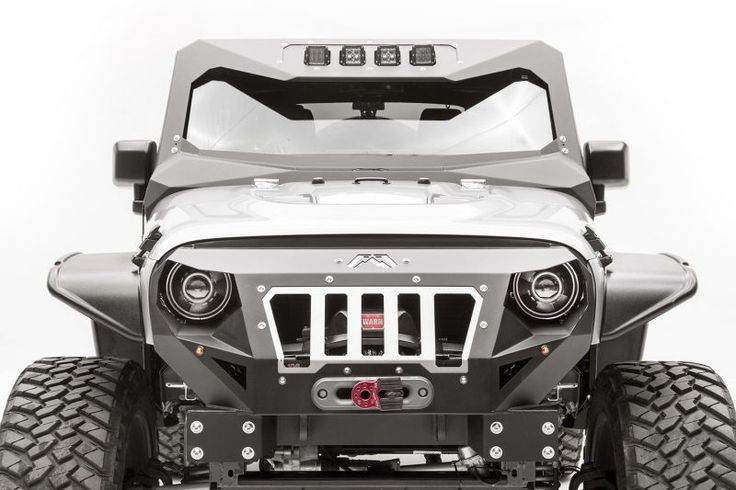 Fab Fours ViCowl for 07-16 Jeep® Wrangler & Wrangler Unlimited JK