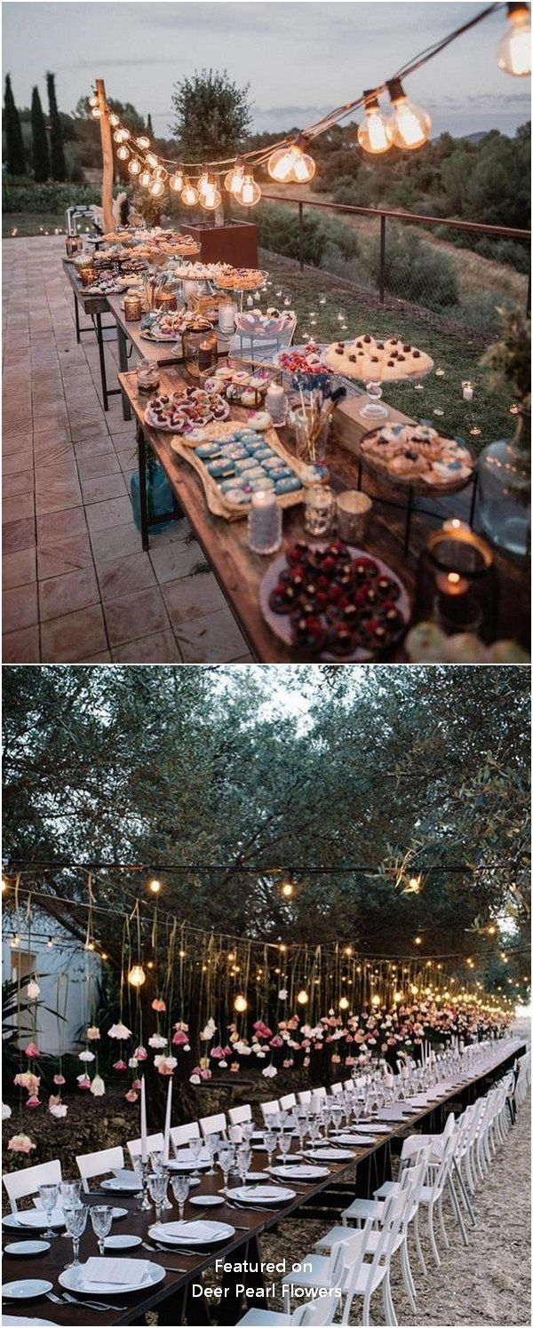 Top 20 Wedding Lighting Ideas You Can Steal – #Ide…