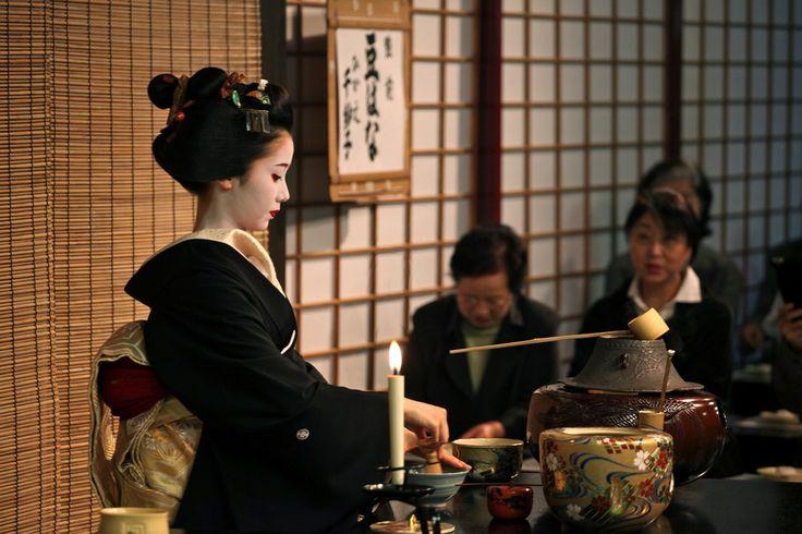 a cerimônia do chá é uma expressão da cultura japonesa