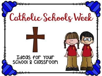 Here is a small collection of ideas and suggestions for Catholic Schools Week. I hope you find it helpful!Check out my other Catholic Schools Week resources here:Catholic Schools Week ResourcesGrace and Gratitude