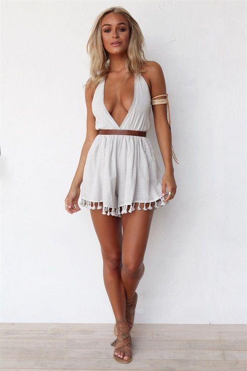 Buy Iza Playsuit Online - Playsuits - Women's Clothing & Fashion - SABO SKIRT