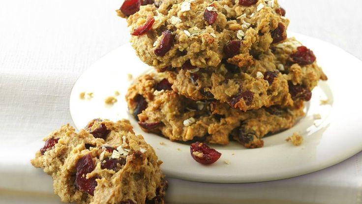 Biscuits à déjeuner à l'avoine et au beurre d'arachide «adaptés santé»