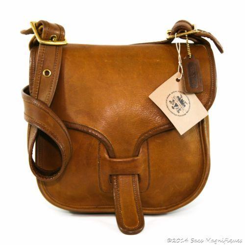 Authentic Vintage Coach Bonnie Cashin Courier Messenger Bag Tabac Tan NYC  8920  LeatherHandbagsOutfit 989e1916f2d19