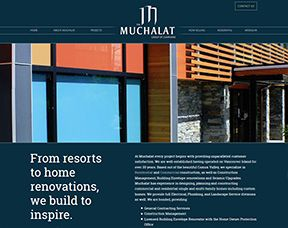 The Muchalat Group, site design by nrichmedia