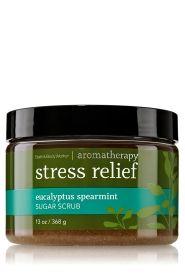 Stress Relief - Eucalyptus Spearmint Sugar Scrub - Aromatherapy - Bath & Body Works