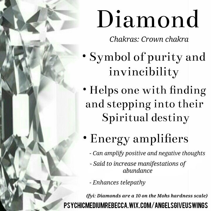Diamond crystal meaning
