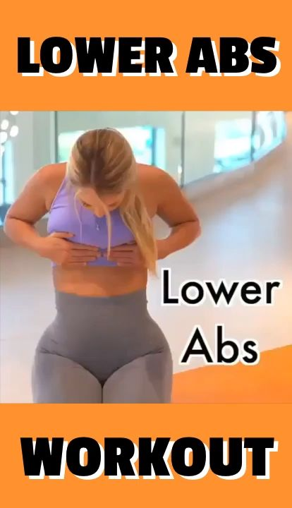 Fitness Lower Abs Workout