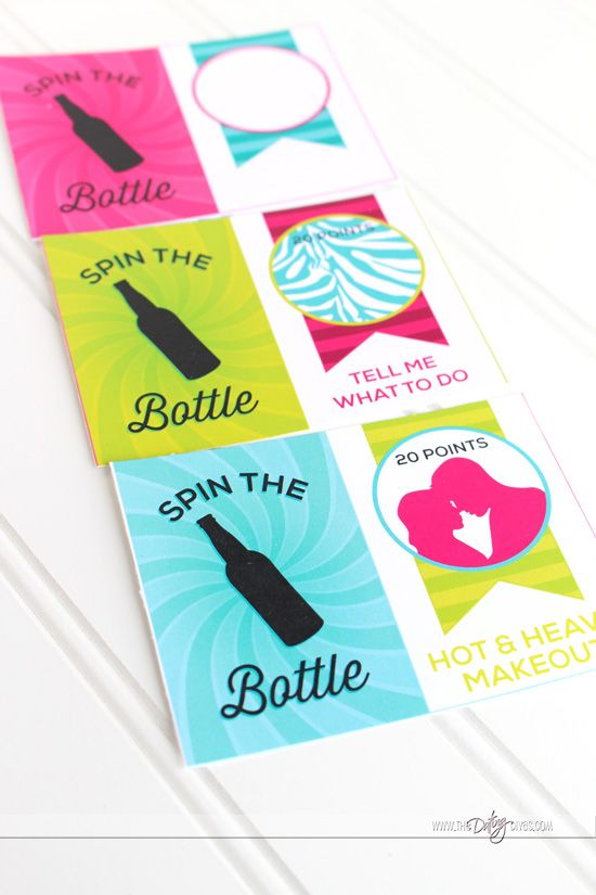 Spin the Bottle Date Night for couples. Fun idea to get things exciting again.
