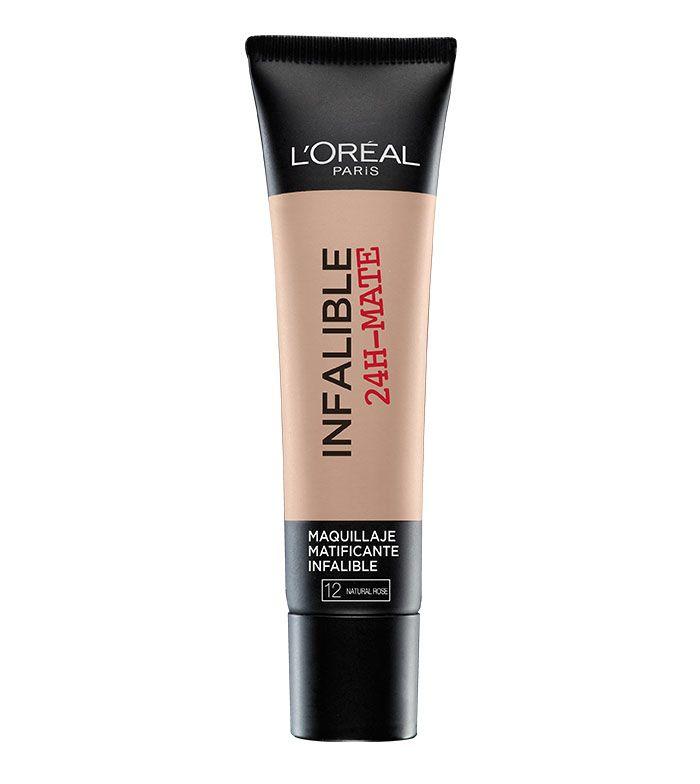 Loreal Paris - Fondotinta Infallible 24h Mat - 12: Natural Rosé
