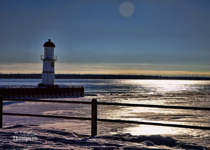Lighthouse on Lac St-Louis, Quebec.