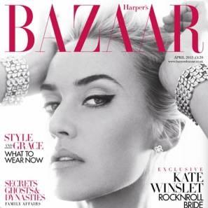 Kate Winslet l Harper's Bazaar UK April 2013
