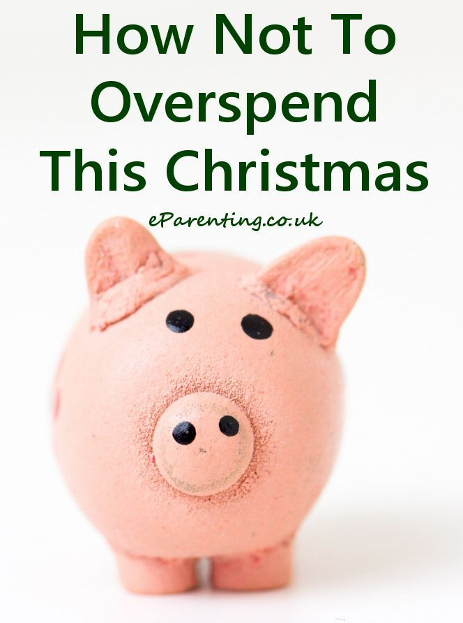 How to avoid overspending this Christmas and ending up in debt in the New Year. #christmas
