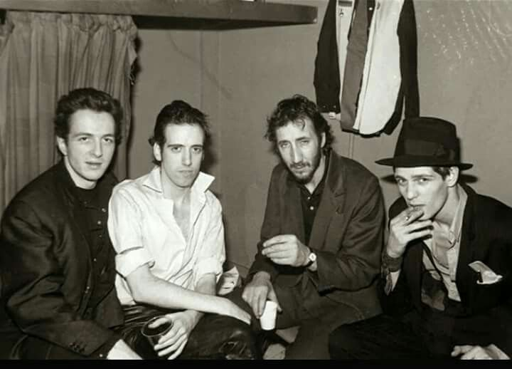 Pete Townshend with The Clash