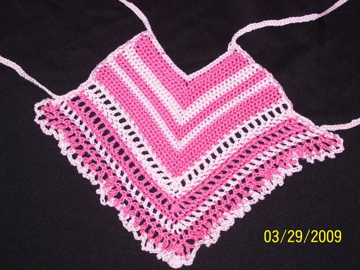 Free Crochet Pattern Baby Halter Top Child Crochet Halter Top