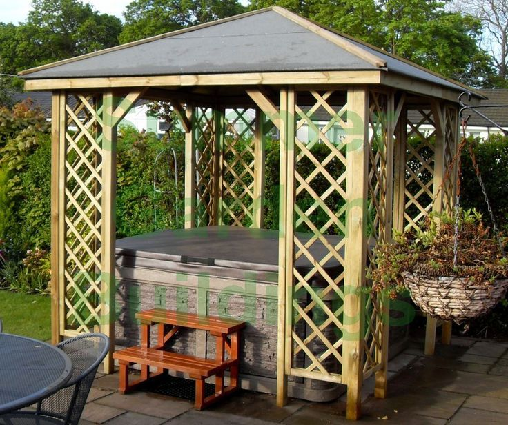 Home Depot Smoking Shelter : Best treated timber ideas on pinterest garden bar