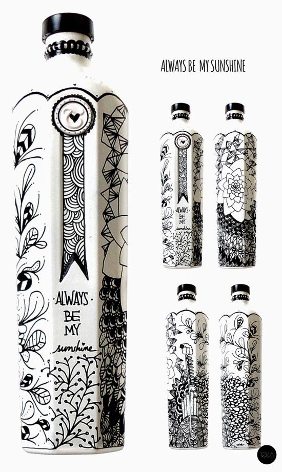 @KELSEY maybe a way to re-figure your bottles (again) or for a future project! they look like your sharpie work :)