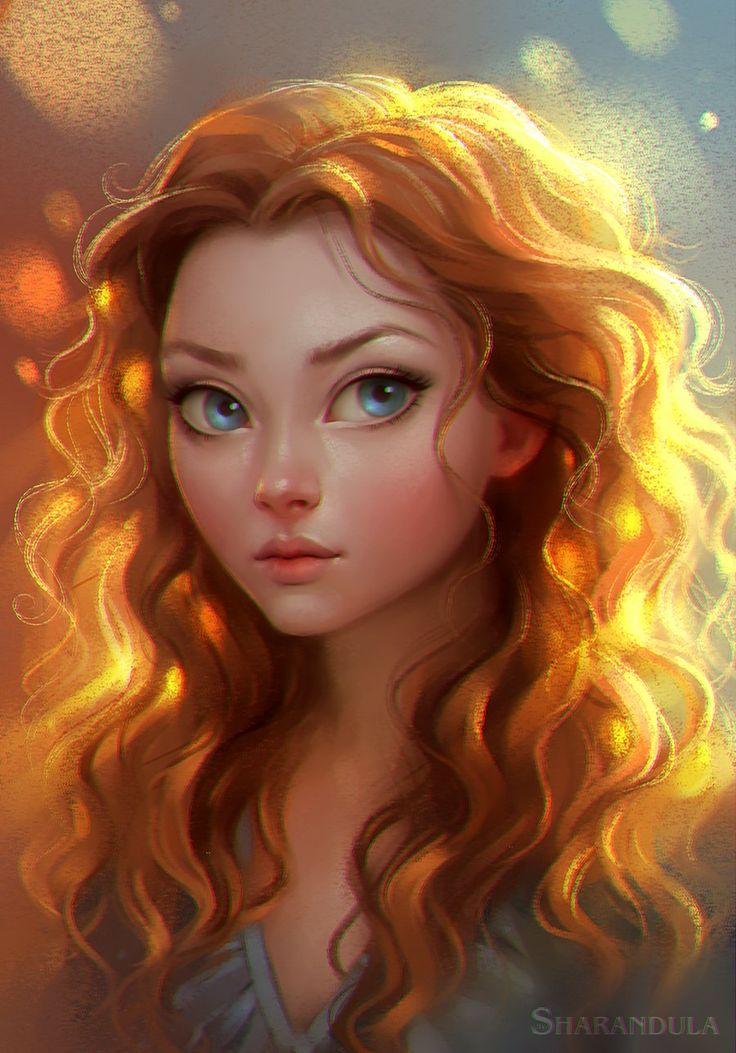 portrait, Elena Berezina on ArtStation at https://artstation.com/artwork/portrait-1c116030-d489-4829-b839-1b2a8dc7b2ed