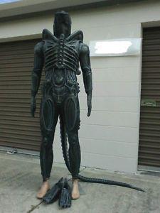 Kit Alien Style Body Suit Pieces Kit Costume Prop