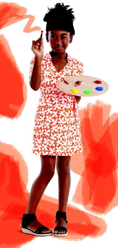 Diane von Furstenberg's collection for Gap Kids