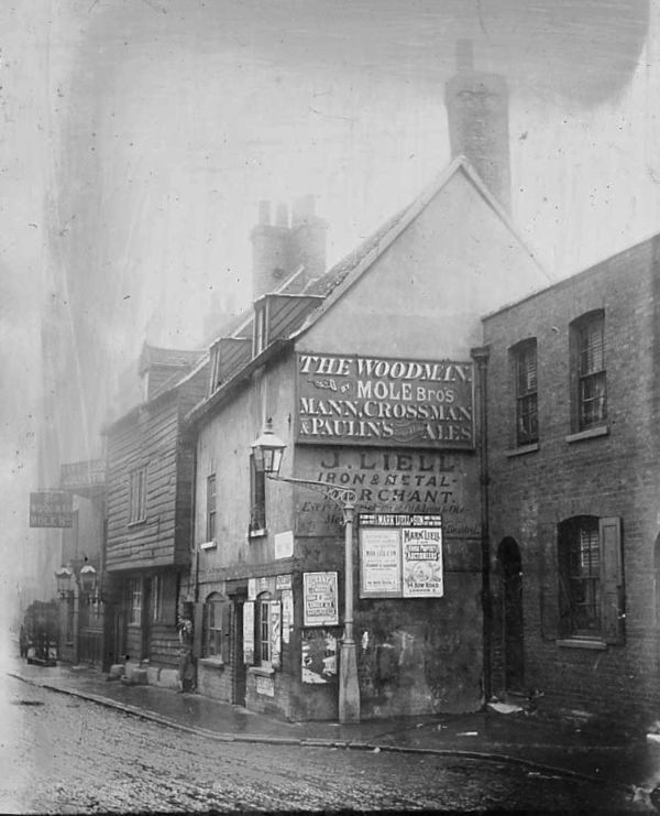 The Woodman, 1900