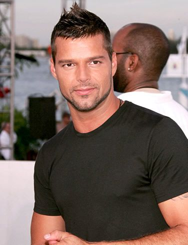 Ricky Martin...yes, you came out of the closet, but I can