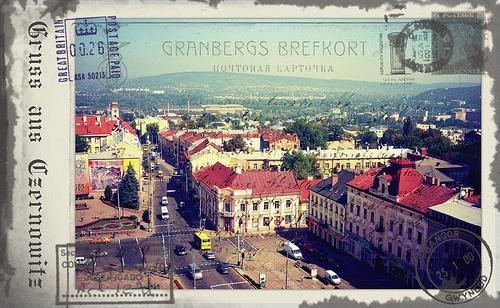 Greetings from Chernivtsi XI (Postcard Imitated)