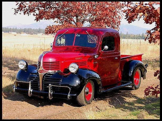 1947 Dodge Brothers Pickup 6.1L Hemi, Vintage Air...Re-pin Brought to you by agents at #HouseofInsurance in #EugeneOregon for #LowCostInsurance.