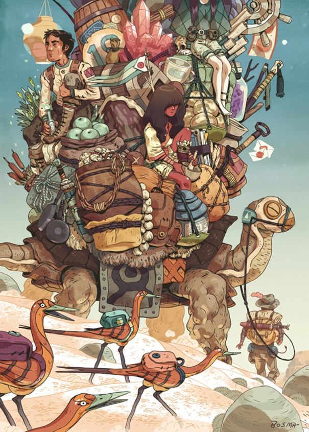 The Art Of Sam Bosma: Artists, Art Illustrations, Illustrations Inspiration, Concept Art, Conceptart, Sambosma, Slam Blogsma, Sam Bosma, Bosma Stability Jpg 608 850