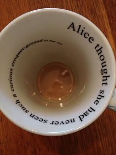 """Alice in Wonderland: """"…her head was so full of the Lobster Quadrille, that she hardly knew what she was saying, and the words came very queer indeed."""""""