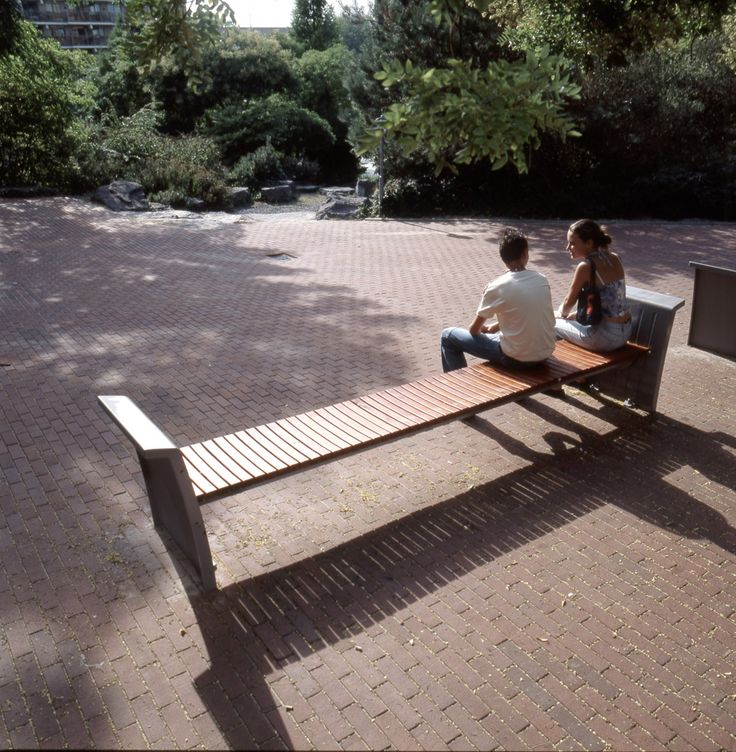 Bench for Zoetermeer. Design by ipv Delft