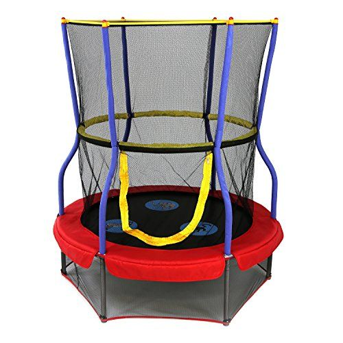 Skywalker Trampolines 48 In. Round Zoo Adventure Bouncer With Enclosure.  Rating 4.1/5