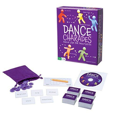 Dance Charades Game Holiday Party Activity for Family & Friends Xmas Gift Toy #Pressman
