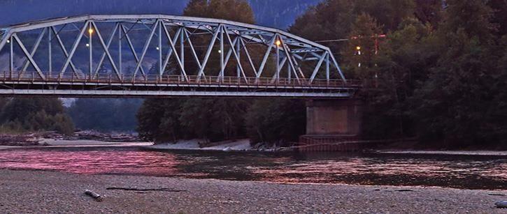 Haisla Bridge Kitimat BC
