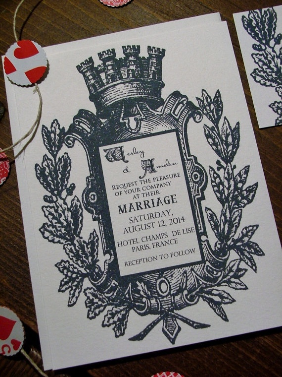 Royal Wedding Invitations King Queen Steampunk by sweetcookie, $50.00