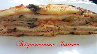 Risparmiamo Insieme - Let's save together: Torta di melanzane