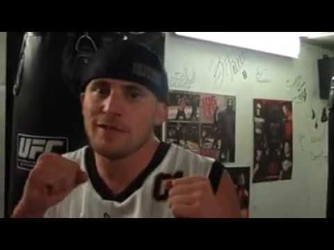 Jeff Horlacher Gets interviewed at his gym Boxing