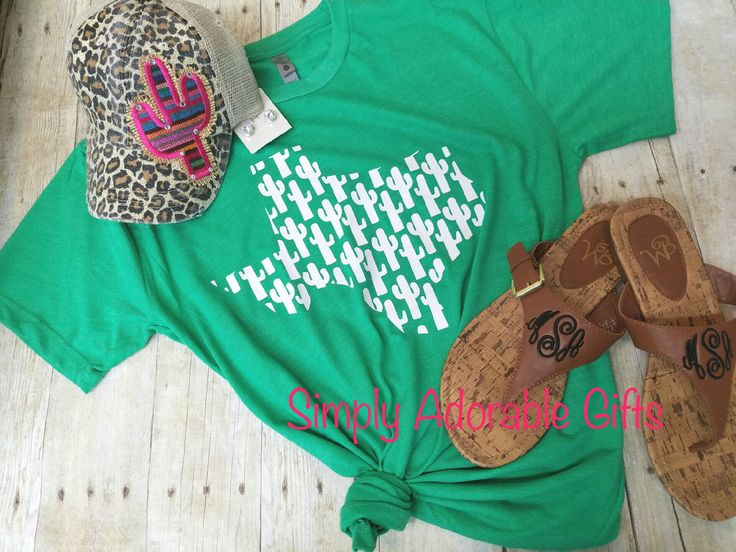 A personal favorite from my Etsy shop https://www.etsy.com/listing/507701364/cactus-texas-tri-blend-t-shirt