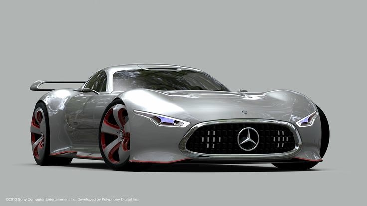 Mercedes's AMG Vision Gran Turismo