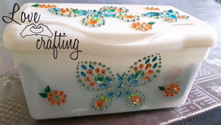 Restyling scatola porta-salviette   Lovecrafting.it