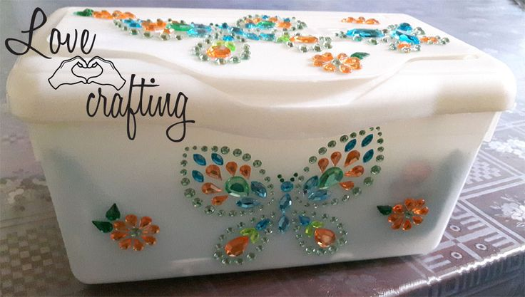 Restyling scatola porta-salviette | Lovecrafting.it