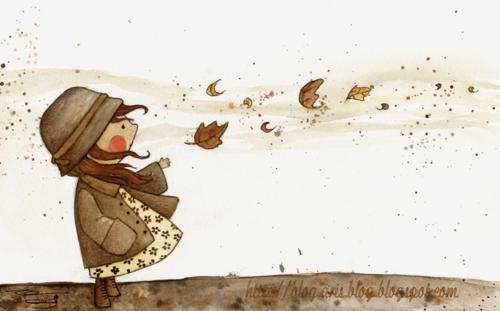 !: Hats, November, Fall Leaves, Sweet, Mud Rooms, Children Illustrations, Aries Blog, A Tattoo, October