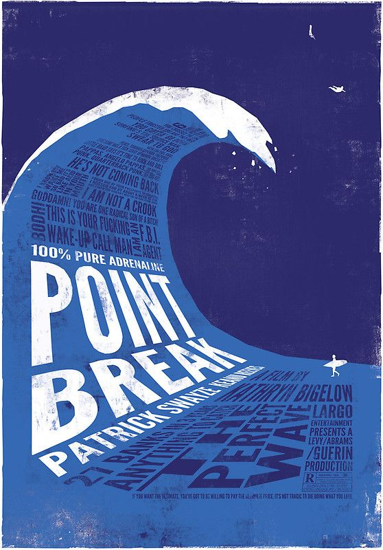 Point Break is one of my favorite movies of all time!