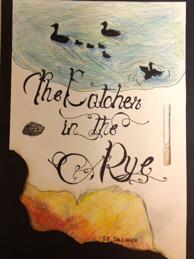 28 Best The Catcher In The Rye Images On Pinterest Book Covers