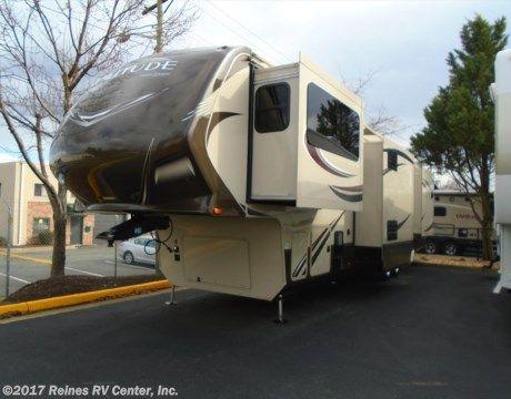 2015 Grand Design Solitude 379FL  - Fifth Wheel Used  in Manassas VA For Sale by Reines RV Center, Inc. call 800-785-4642 today for more info. #fifthwheel #fifthwheels #rvs #rving #camping #virginiacamping #rvsinvirginia
