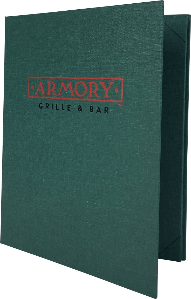 Armory Grille and Bar - 399922 - PZA-410-SF - Linen Menu Cover by Menu Designs