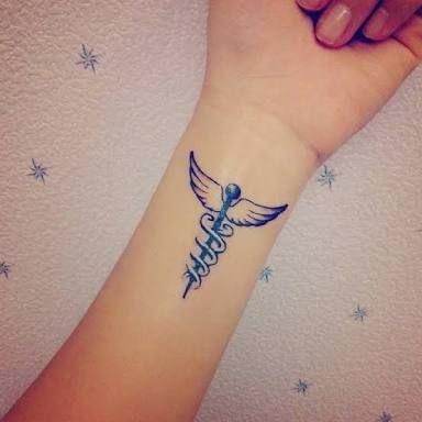 Image result for caduceus tattoo